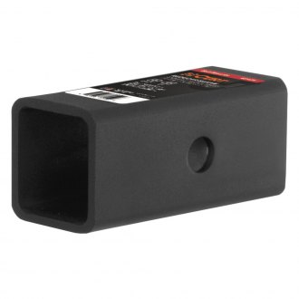 CURT® - Gloss Black Powdercoated Receiver Tube Adapter Sleeve