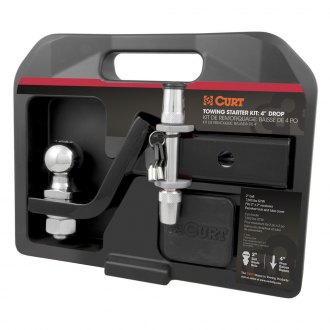 CURT® - Class 3 4 Drop / 2 Rise Towing Starter Kit for 2 Receivers