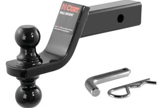 "CURT® - Class 3 4"" Drop Reversible Ball Mount for 2"" Receivers (1-7/8"" and 2"" Balls)"