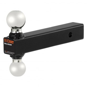 "CURT® - Dual Ball Mount for 2"" Receiver"
