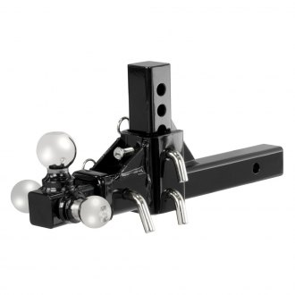 "CURT® - Class 3 / 4 Tri-Ball Adjustable Replacement Head for 2"" Receivers"