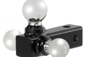 "CURT® - Tri-Ball Adjustable Replacement Head for 2"" Receivers"