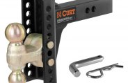 "CURT® - Channel-Style Adjustable Dual Ball Mount for 2"" Receivers"