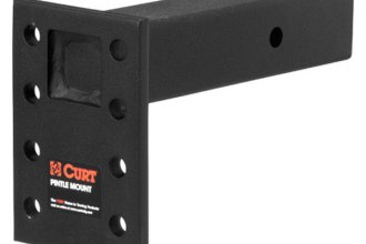"CURT® - Adjustable Pintle Mount for 2-1/2"" Receivers"