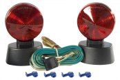 CURT® - Brake and Turn Signals Tail Light Includes 20 ft. Cord with 4-Way Flat Plug