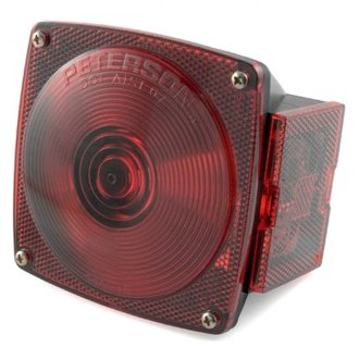 CURT® - Combination Light, without License Illuminator-Right Side Red without License Plate Illuminator