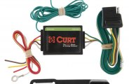 CURT® 55130 - 3-wire System to 2-wire System Tail Light Converter (2.1 Amp Turn/Brake, 5 Amp Taillight w/o Wiring Kit)