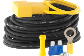 CURT® - Yellow Powered Converter Wiring Kit