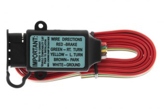 CURT® - 3-wire Systems to 2-wire System Tail Light Converter with Splice Input