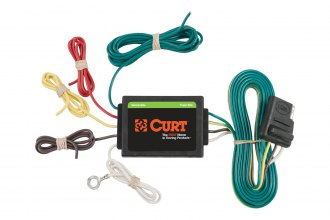CURT® - 3 To 2-Wire Tail Light Converter