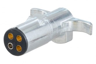 CURT® - 4-Way Round Wiring Connector