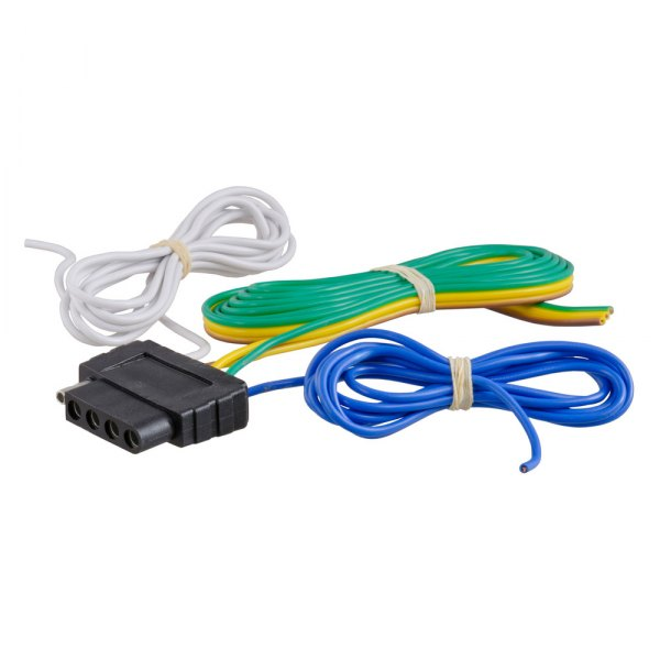 CURT® - 5-Way Flat Bonded Wiring Connector