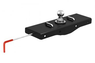 CURT® - Under-bed Double Lock Gooseneck Hitch