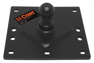 "CURT® - Fixed Gooseneck Plate with 2-5/16"" Ball"