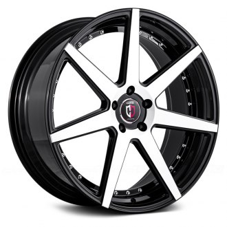 CURVA® - C47 Black with Machined Face