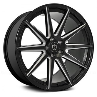 CURVA® - C49 Black with Milled Accents