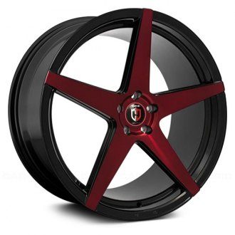 CURVA® - C55 Gloss Black with Red Face