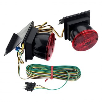 Custer Products Limited® - Tow Lights Trunk Hinged with 20' Cord