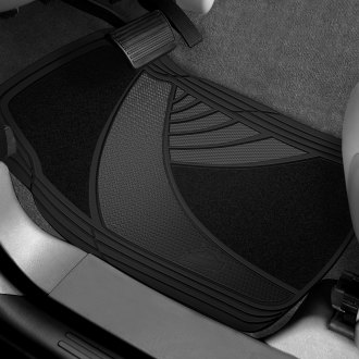 Custom Accessories® - Armor All™ Rubber/Carpet Floor Mat Set