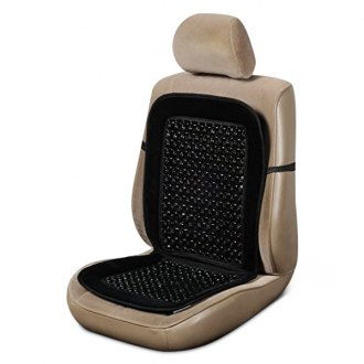 Custom Accessories® - Black Beaded Velour Seat Cushion