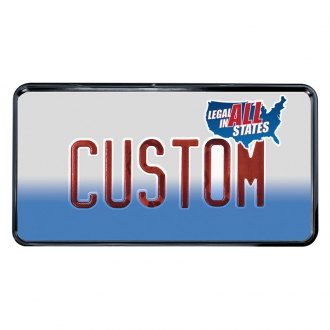 Custom Accessories® - Custom Frames™ Recessed License Plate Frame