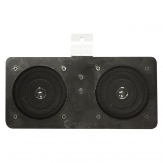 "Custom Autosound® - 4"" X 10"" Dual Dash Mount 4"" 100W Speakers"