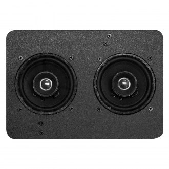 "Custom Autosound® - 5"" X 7"" Dual Dash Mount 4"" 210W Speakers"