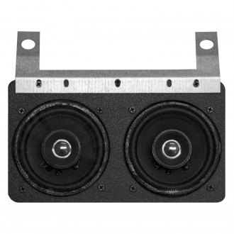 "Custom Autosound® - 6"" X 9"" Dual Dash Mount 4"" 210W Speakers"
