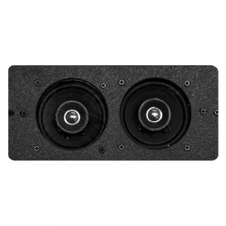 "Custom Autosound® - 4"" X 10"" Dual Dash Mount 4"" 210W Speakers"