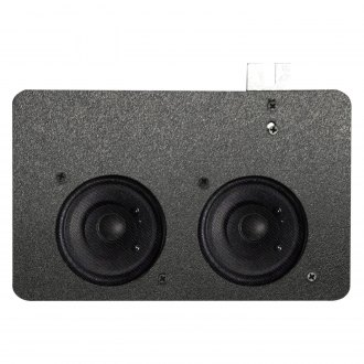 "Custom Autosound® - 5"" X 7"" Dual Dash Mount 3-1/2"" 80W Speakers"