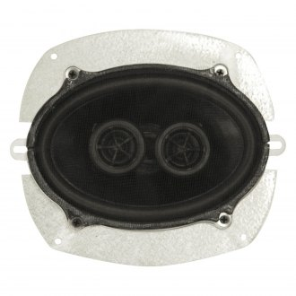 "Custom Autosound® - 5"" x 7"" 140W Dual Voice Coil Dash Speaker"