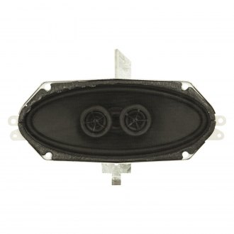 "Custom Autosound® - 4"" x 10"" 140W Dual Voice Coil Bracketed Dash Speaker"