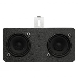 "Custom Autosound® - 4"" X 10"" Dual Dash Mount 3-1/2"" 40W Kenwood Speakers"