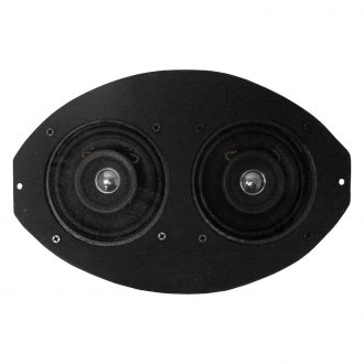 Custom Autosound® - Dual Dash Mount Speakers