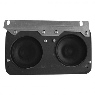 "Custom Autosound® - 5"" X 7"" Dual Dash Mount 3-1/2"" Speaker"
