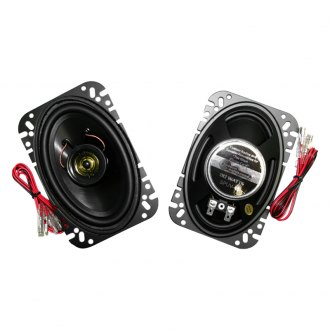 "Custom Autosound® - 4"" x 6"" 2-Way 80 W Speakers"