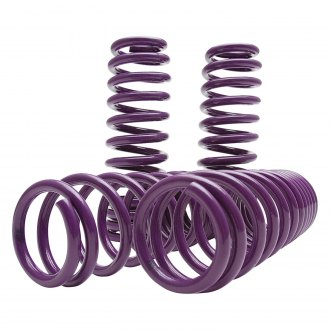 "D2 Racing® - 1.9"" x 1.6"" Front and Rear Lowering Coil Springs"