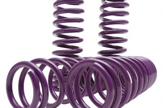 "D2 Racing® - 1.8"" x 1.8"" Front and Rear Lowering Coil Springs"