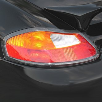 D2S® - Euro Style Fiberglass Rear Tail Light Covers (Painted)