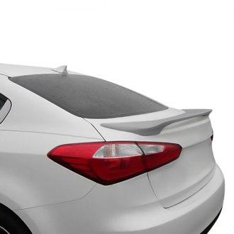 Rear Bumper Diffuser For Kia Forte LX 17-18 4Dr Sedan Aero Body Kit Valance Trim
