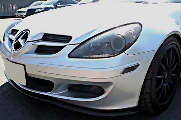 D2s M171 Fl Cf Euro Style Carbon Fiber Front Bumper Lip Spoiler