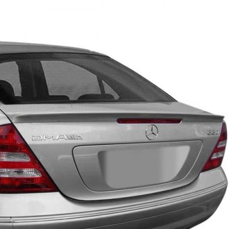 2001 mercedes c class body kits ground effects carid d2s amg style rear lip spoiler fandeluxe Images