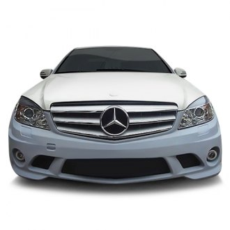 D2S® - AMG Style Front Bumper with Mesh Grille and Fog Lights