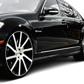 D2S® - AMG-S63 Style Fiberglass Side Skirt Set (Unpainted)