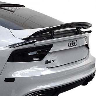 audi a7 spoilers custom factory roof lip wing spoilers. Black Bedroom Furniture Sets. Home Design Ideas