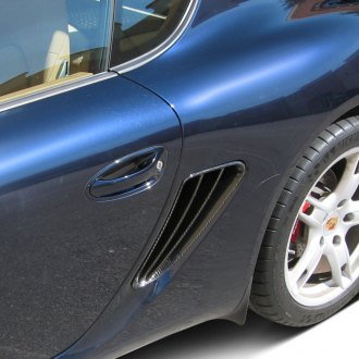 D2S® - German Style Carbon Fiber Side Air Intake Covers
