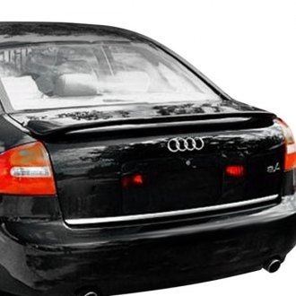 D2S® - Euro Style Fiberglass Rear Wing Spoiler with Light