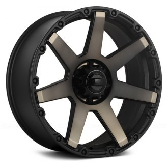 DAI ALLOYS® - DW98 BARRETT Matte Black with Matte Bronze Face