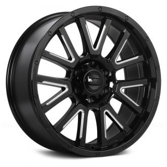 DAI ALLOYS® - DW103 KARV Gloss Black with Milled Edges