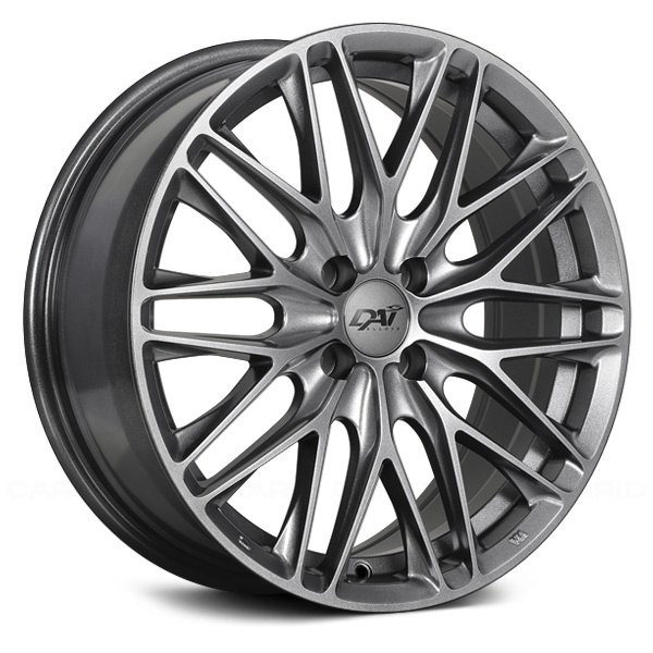DAI ALLOYS DW60 KRAZE Wheels Gunmetal Reflex Rims DW6017001D Cool 5x105 Bolt Pattern